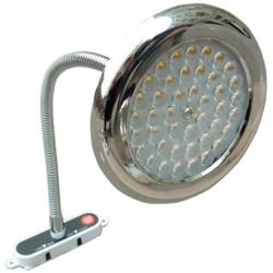 Faretto SPOT 42LED 4000K 12V 3W con flessibile ed Inter.