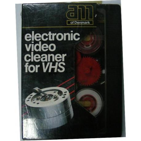 Pulisci Testina Video VHS Elettronico Electronic Video Cleaner