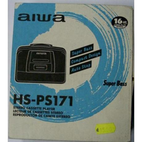 Walkman Aiwa HS-PS171 cassetta