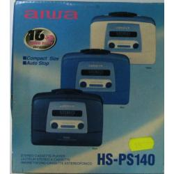 Walkman Aiwa HS-PS140 cassetta