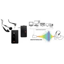 UNITRONIC AWS8112 TRASMETTITORE AUDIO DIGITALE WIRELESS CON AURI