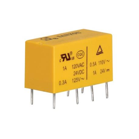 Rele' Relays DSY2Y-S-205L  2 SCAMBI  5V  2A