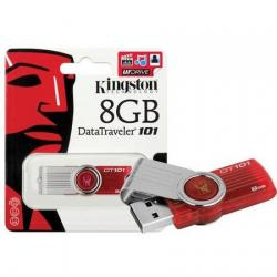 PEN DRIVE  8GB KINGSTON  DATA TRAVEL 101 USB V2.0
