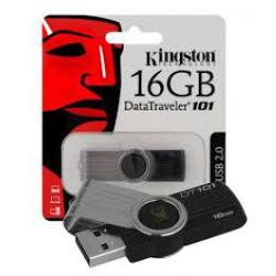 PEN DRIVE 16GB KINGSTON DATA TRAVEL 101 USB V2.0