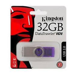 PEN DRIVE 32GB KINGSTON DATA TRAVEL 101 USB V2.0