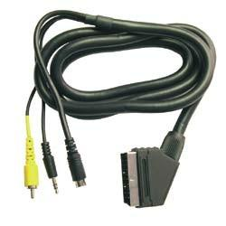 Cavo Audio/Video 1.5Mt Scart M/S-video-RCA M-3.5 jack st.A/V