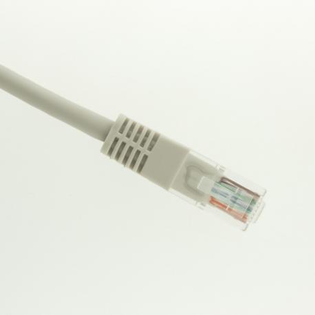 Patch Cord UTP Cat5E Cross(incrociato) 20mt PVC grigio Rame-UL-3